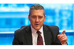 Fed's Bullard Says He Wanted Interest-Rate Cut as Insurance