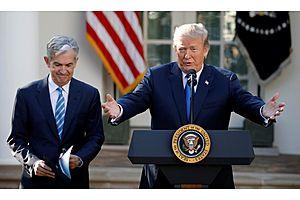Trump Says Fed Should Cut U.S. Rates; Powell Doing 'Bad Job'