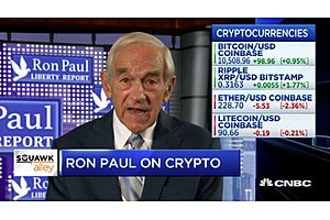 Ron Paul on Cryptocurrency