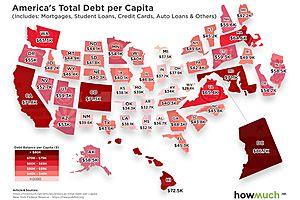 Visualizing Americans' Debt Problem
