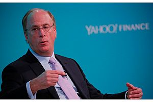 Blackrock CEO Fink Says ECB Must Buy Equities to Stimulate Euro Zone