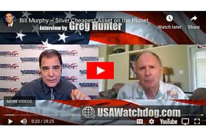 Silver Cheapest Asset on the Planet - GATA'S Bill Murphy