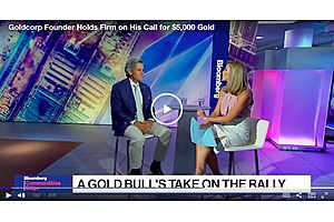 Goldcorp Founder Holds Firm on His Call for $5,000 Gold