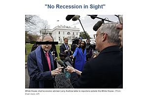 """""""No Recession in Sight"""": Translating Trump and Kudlow"""