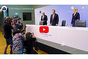 ECB Press Conference - September 12,  8:30 ET Draghi Speech Live Stream