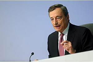 ECB's Draghi Warns of Bubble Risk in the Euro Zone
