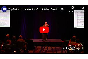 TOP 5 Candidates for the Gold & Silver Stock of 2020: Jeff Clark Live from the Silver Summit