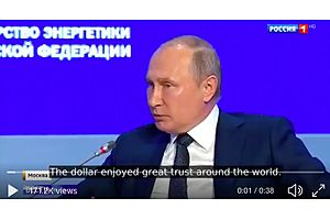 Vladimir Putin: US Dollar Will Collapse Soon