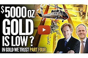 See full story: Here's Why $5,000 Is a LOW PRICE for Gold—Mike Maloney and Ronnie Stoeferle Video #4