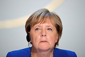 Merkel Says Financial Transaction Tax Is Right for Equities