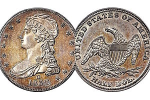Rare 1838 Silver Half Dollar Coin Sold for $504,000.00