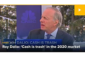 See full story: Dalio Says 'Cash Is Trash', Have Gold in your Portfolio