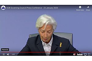 See full story: Watch ECB's Lagarde on Greenwashing Central Bank Policy Will Save Europe