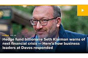 See full story: Hedge Fund Giant Klarman 'Rocket Fuel' Feeding Rally Will Soon 'Run Out'