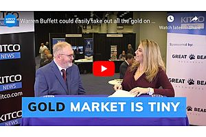 See full story: Warren Buffett Could Easily Take out All the Gold on the COMEX