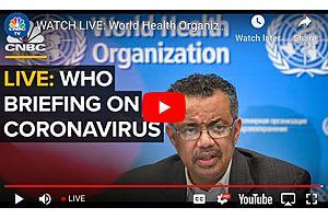 See full story: World Health Organization Holds Press Conference on the Coronavirus