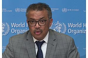 """See full story: WHO Chief Warns """"Window Of Opportunity Is Narrowing"""" As Coronavirus Spreads"""