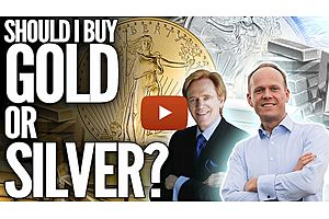 See full story: Should I Buy Silver or Gold? New Mike Maloney Video on Playing the Gold/Silver Ratio