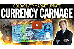 See full story: Currency Carnage - Gold/Silver Market Update with Mike Maloney