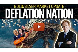 See full story: Deflation Nation - Gold/Silver Market Update with Mike Maloney