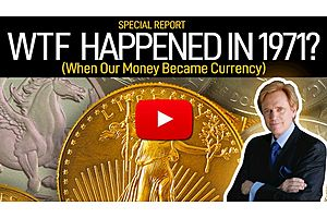 See full story: WTF Happened in 1971? - When Our Money became Currency - Mike Maloney