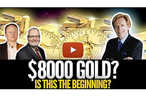 See full story: Is This the Beginning of $8000 Gold? Mike Maloney, Chris Martenson & Mr Jeff Clark