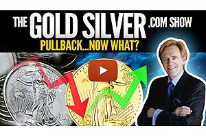 See full story: Pullback...Now What? The GoldSilver.com Show - Mike Maloney