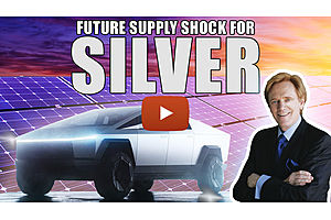 See full story: The Future For Silver: Why Tesla & Solar Could Lead to Supply Shock