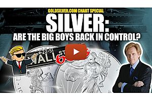 See full story: Silver & Gold CHART SPECIAL: Are the Big Boys Back in Control?