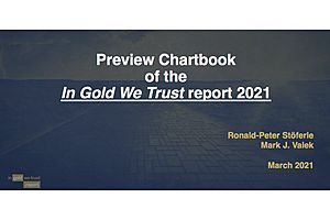Preview Chartbook of the In Gold We Trust report 2021