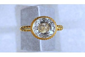 Gold Ring From English Civil War Era Unearthed on the Isle of Man
