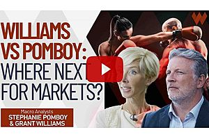 See full story: What's Coming Next For The Markets?: Grant Williams vs Stephanie Pomboy