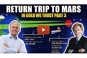 See full story: Stimulus Cash Would Reach to Mars & Back - In Gold We Trust (Part 3)
