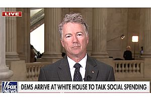 """Democrats """"Are Going To Go After Ordinary People"""" With Massive Spending Bill: Rand Paul"""
