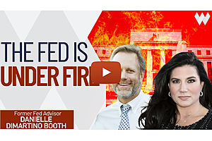 See full story: Danielle DiMartino Booth: The Fed Is Under Fire! Scandal, Succession, Inflation, Taper & CBDC