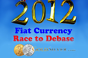 Race To Debase - 2012 Q3 - Fiat Currencies vs Gold & Silver