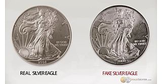 Torrent of Fake U.S. Silver Eagle Coins Floods Canadian Market
