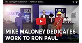 Mike Maloney Dedicates Upcoming Hidden Secrets of Money Episode 4 to Ron Paul