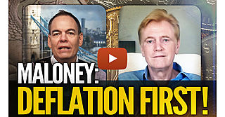 Deflation First! Mike Maloney With Max Keiser