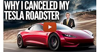 """See full story: """"Why I canceled my Tesla roadster order"""" – Mike Maloney"""